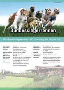 Bundessiegerrennen-Plakat